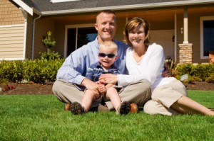 Happy Family with Home Inspection form Mobley Home Inspections